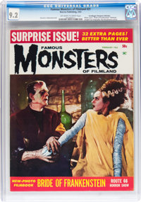 Famous Monsters of Filmland #21 Don/Maggie Thompson Collection pedigree (Warren, 1963) CGC NM- 9.2 Off-white to white pa...