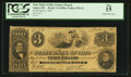 Obsoletes By State:Ohio, Salem, OH- The State Bank of Ohio, Farmers Branch $3 June 1, 1861G1280a Wolka 2359-16. ...