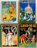 Books:Children's Books, L. Frank Baum. Four Reprints in the Oz Series. Three areearlier Reilly & Lee reprints, one is a modern Kone... (Total:4 Items)