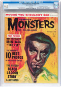 Magazines:Horror, Famous Monsters of Filmland #5 Don/Maggie Thompson Collection pedigree (Warren, 1959) CGC VF/NM 9.0 White pages....