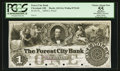 Obsoletes By State:Ohio, Cleveland, OH- The Forest City Bank $1 G4 Wolka 0732-01 Proof. ...