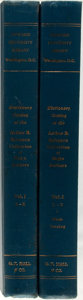 Books:Reference & Bibliography, [Bibliography]. Dictionary Catalog of the Arthur B. SpingarnCollection of Negro Authors. Boston: G.K. Hall, 1970. F...(Total: 2 Items)
