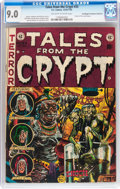 Golden Age (1938-1955):Horror, Tales From the Crypt #33 Don/Maggie Thompson Collection pedigree(EC, 1952) CGC VF/NM 9.0 Off-white to white pages....