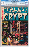 Golden Age (1938-1955):Horror, Tales From the Crypt #27 Don/Maggie Thompson Collection pedigree(EC, 1951) CGC VF+ 8.5 Off-white to white pages....