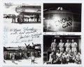 "Miscellaneous:Ephemera, Enola Gay Inscribed Photograph Signed by Members of theCrew. Measuring 10"" x 8"" overall, four images total are seen..."