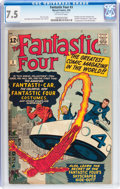 Silver Age (1956-1969):Superhero, Fantastic Four #3 (Marvel, 1962) CGC VF- 7.5 Off-white to whitepages....