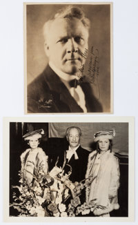 Feodor Chaliapin Inscribed Photograph Signed. The Russian-born opera singer Chaliapin (1873-1938) is seen in this sep