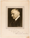 Autographs:Artists, Walter Damrosch Inscribed Photograph Signed. German-born composerWalter Damrosch (1862-1950) is best known as a long time d...