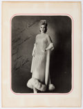 Autographs:Artists, Mary Costa Inscribed Photograph Signed. Costa, an American actressand opera singer, is pictured in a stunning full length g...