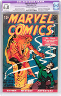 Golden Age (1938-1955):Superhero, Marvel Comics #1 (Timely, 1939) CGC Apparent FN 6.0 Extensive (P)Off-white to white pages....
