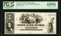 Obsoletes By State:Ohio, Columbus, OH- The State Bank of Ohio, Exchange Branch $1 G480 Wolka0893-04 Proof. ...