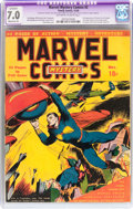 Golden Age (1938-1955):Superhero, Marvel Mystery Comics #2 (Timely, 1939) CGC Apparent FN/VF 7.0Moderate (P) Off-white to white pages....