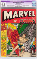 Golden Age (1938-1955):Superhero, Marvel Mystery Comics #9 (Timely, 1940) CGC Apparent VG+ 4.5 Cream to off-white pages....