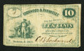 Obsoletes By State:Ohio, Solon, OH- Lockwood & Parmelee 10¢ 1862 Wolka 2436-02. ...