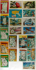 Miscellaneous:Postcards, [Postcards]. Group of Twenty Postcards Depicting Alabama, Florida,Georgia and Mississippi. Ca. 1960s. Measures 5.5 x 3.5 in...