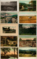 Miscellaneous:Postcards, [Postcards]. Group of Ten Postcards Depicting New England. Ca.1910. Measures 5.5 x 3.5 inches. Fine. . ...