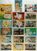 Miscellaneous:Postcards, [Postcards]. Group of Eighteen Postcards Depicting Arkansas,Louisiana, Oklahoma and Texas. Ca. 1970s. Measures 5.5 x 3.5 in...