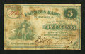 Obsoletes By State:Ohio, New London, OH- D.W. Anderson & Co. at Farmers Bank 5¢ 1862Wolka 1867-01. ...
