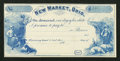 Obsoletes By State:Ohio, New Market, OH- Unknown Issuer $1 Remainder Wolka Unlisted. ...
