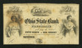 Obsoletes By State:Ohio, Newton, OH- The Ohio State Bank of Free Trade 50¢ 185_ RemainderWolka 1969-04. ...