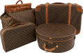 Movie/TV Memorabilia:Memorabilia, A José Ferrer Collection of Louis Vuitton Luggage, 1960s....(Total: 4 Items)