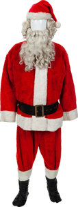 Movie/TV Memorabilia:Costumes, A Harry Blackstone, Jr. Santa Claus Costume...