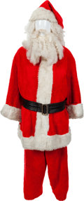 Movie/TV Memorabilia:Costumes, A Harry Blackstone, Jr. Santa Costume... (Total: 5 Items)