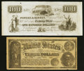 Obsoletes By State:Ohio, Plymouth, OH- Powers & Kinney $100 Advertising Note RemainderWolka 2228-01. Polk, OH- Jos. Binehower $3 Advertising Not...(Total: 2 notes)