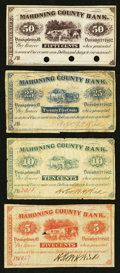 Obsoletes By State:Ohio, Youngstown, OH- H.K. & W.H. Wick at the Mahoning County Bank5¢; 10¢; 25¢; 50¢ Remainder Dec. 1, 1862 Wolka 2922-01; -02; -0...(Total: 4 notes)
