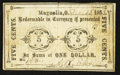 Obsoletes By State:Ohio, Magnolia, OH- A.R. Elson 5¢ Feb. 12, 1862 Wolka 1517-01. ...