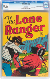 Four Color #125 The Lone Ranger - Mile High pedigree (Dell, 1946) CGC NM+ 9.6 White pages