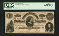 Confederate Notes:1864 Issues, T65 $100 1864 PF-2 Cr. 493.. ...