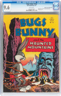 Golden Age (1938-1955):Miscellaneous, Four Color #142 Bugs Bunny - Mile High pedigree (Dell, 1947) CGC NM+ 9.6 White pages....