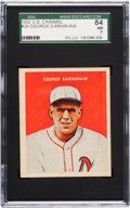 Baseball Cards:Singles (1930-1939), 1932 U.S. Caramel George Earnshaw #29 SGC 84 NM 7 - Pop Two, One Higher! ...