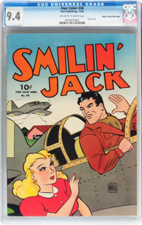 Four Color #58 Smilin' Jack - Mile High pedigree (Dell, 1944) CGC NM 9.4 Off-white to white pages