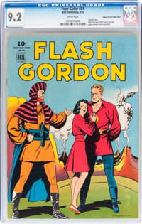 Four Color #84 Flash Gordon - Mile High pedigree (Dell, 1945) CGC NM- 9.2 White pages