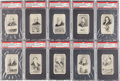 "Non-Sport Cards:Sets, 1929 Spotlight Tobaccos ""Scientific Inventions and Discoveries"" PSAGraded Complete Set (35). ..."
