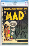 Golden Age (1938-1955):Humor, Mad #1 (EC, 1952) CGC FN 6.0 Off-white pages....