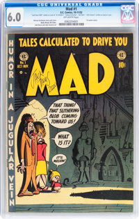 Mad #1 (EC, 1952) CGC FN 6.0 Off-white pages