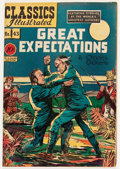 Golden Age (1938-1955):Classics Illustrated, Classics Illustrated #43 Great Expectations - Original Edition(Gilberton, 1947) Condition: GD+....
