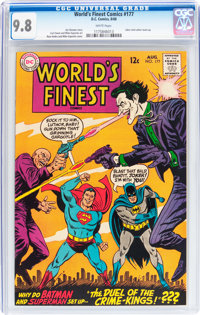 World's Finest Comics #177 (DC, 1968) CGC NM/MT 9.8 White pages