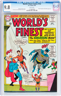 World's Finest Comics #152 (DC, 1965) CGC NM/MT 9.8 White pages