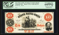 Obsoletes By State:Ohio, Cincinnati, OH- The State Bank of Ohio, Mechanics & TradersBranch $10 Wolka 0633-20 Proof. ...
