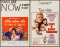 """Movie Posters:Adventure, 55 Days at Peking & Other Lot (Allied Artists, 1963). WindowCards (2) (14"""" X 22""""). Adventure.. ... (Total: 2 Items)"""