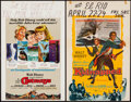 """Movie Posters:Adventure, In Search of the Castaways & Others Lot (Buena Vista, 1962).Window Cards (4) (14"""" X 22""""). Adventure.. ... (Total: 4 Items)"""