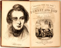 Books:Literature Pre-1900, Charles Dickens. Dombey and Son. New York: John Wiley, 1848.First American edition. Two octavo volumes, uniformly b... (Total:2 Items)