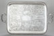 A RARE WILLIAM GALE COIN SILVER TWO HANDLED TRAY William Gale & Son, New York, New York , 1851 Marks: WM GALE &a...
