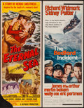 "Movie Posters:War, The Eternal Sea & Other Lot (Republic, 1955). Inserts (2) (14""X 36""). War.. ... (Total: 2 Items)"