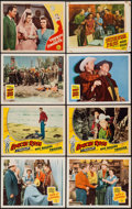 "Movie Posters:Western, Bells of Coronado & Others Lot (Republic, 1950). Lobby Cards (8) (11"" X 14""). Western.. ... (Total: 8 Items)"