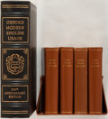 Books:Reference & Bibliography, [Dictionaries]. Pair of Dictionaries. Includes one limited editioncopy of Oxford's Modern English Usage (1978) as well ...(Total: 2 Items)